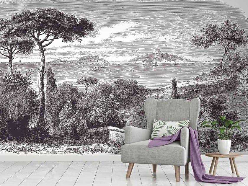 Digital printing landscape wallpaper SICILE by LGD01
