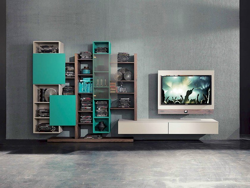 TV wall system SIDE 6 by Fimar