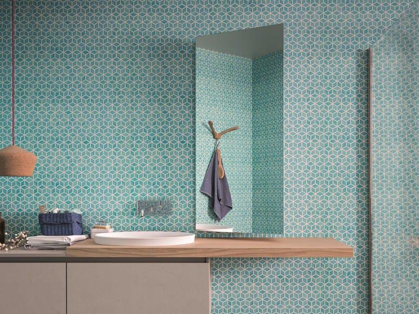 Wall-mounted bathroom mirror SIDE by Birex