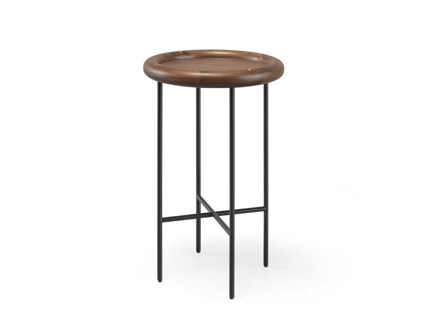 Round solid wood coffee table SIDE BY SIDE   Coffee table by Wewood