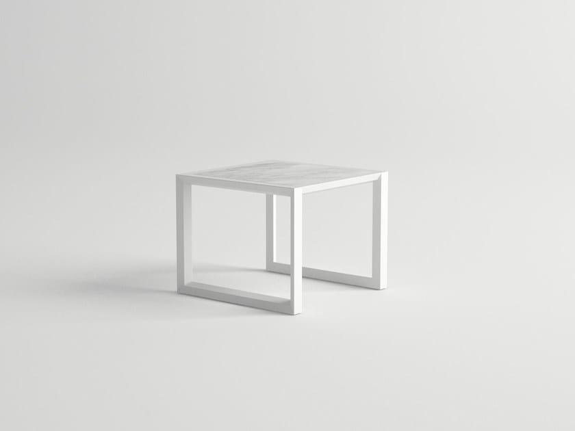 Rectangular garden side table NUBES | Side table by 10Deka
