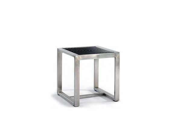 Sled base square side table HARRISON | Side table by 7OCEANS DESIGNS
