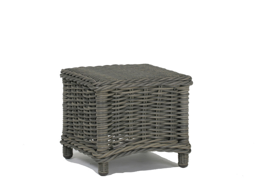Square garden side table BALI | Side table by 7OCEANS DESIGNS