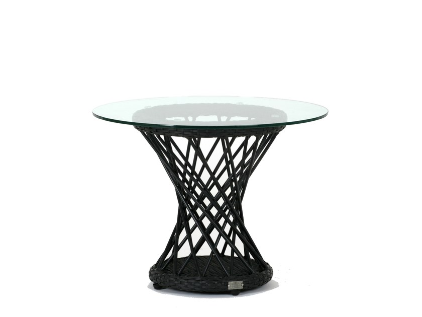 Round garden side table RAVEL | Side table by 7OCEANS DESIGNS