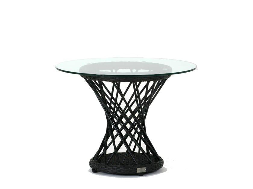 Tavolino da giardino rotondo RAVEL | Tavolino di servizio by 7OCEANS DESIGNS
