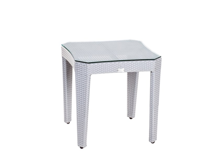 Square garden side table GRACE | Side table by 7OCEANS DESIGNS