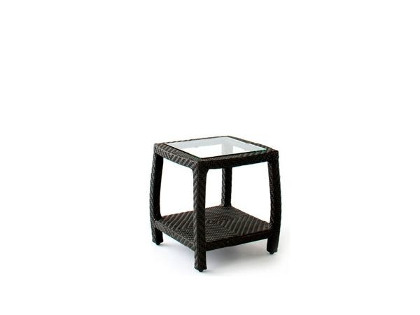 Square side table with storage space TRANQUILITY   Side table by 7OCEANS DESIGNS
