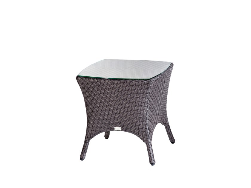 Square garden side table SALVADOR | Side table by 7OCEANS DESIGNS