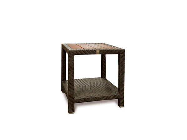 Square garden side table ALPINE | Side table by 7OCEANS DESIGNS