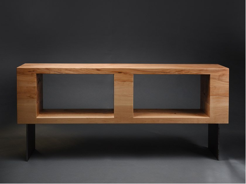 Beech storage/shelving sideboard SIDEBOARD #01 by Nature Systems