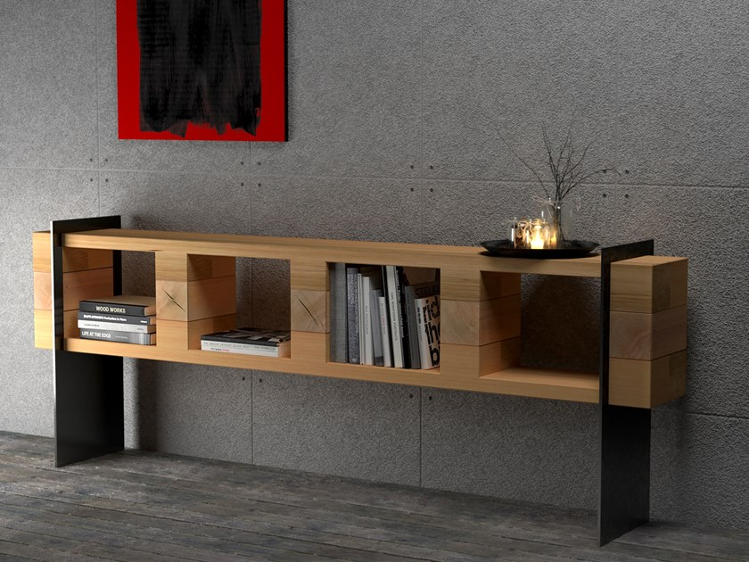 Beech storage/shelving sideboard SIDEBOARD #03 by Nature Systems
