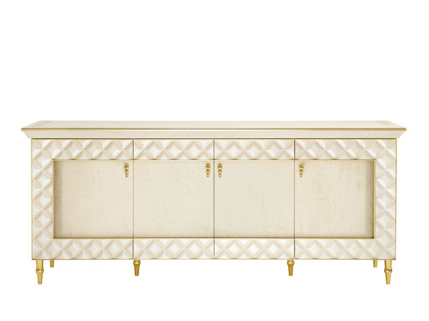 Wooden sideboard with doors SIPARIO | Sideboard by ADORA