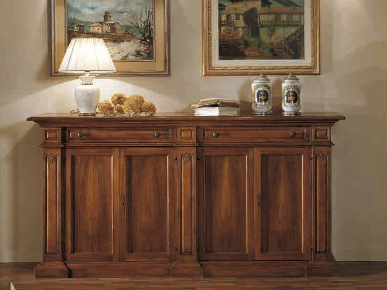 Wooden sideboard with doors DONATELLO | Sideboard by Arvestyle