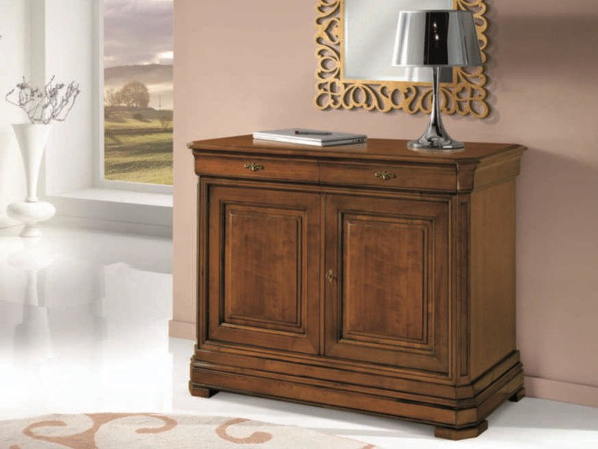 Solid wood sideboard with doors AMALFI | Solid wood sideboard by Arvestyle