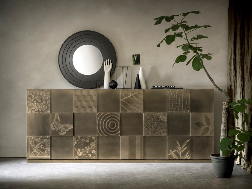 Sideboard with folding doors QUADRO | Sideboard by Capo d'Opera