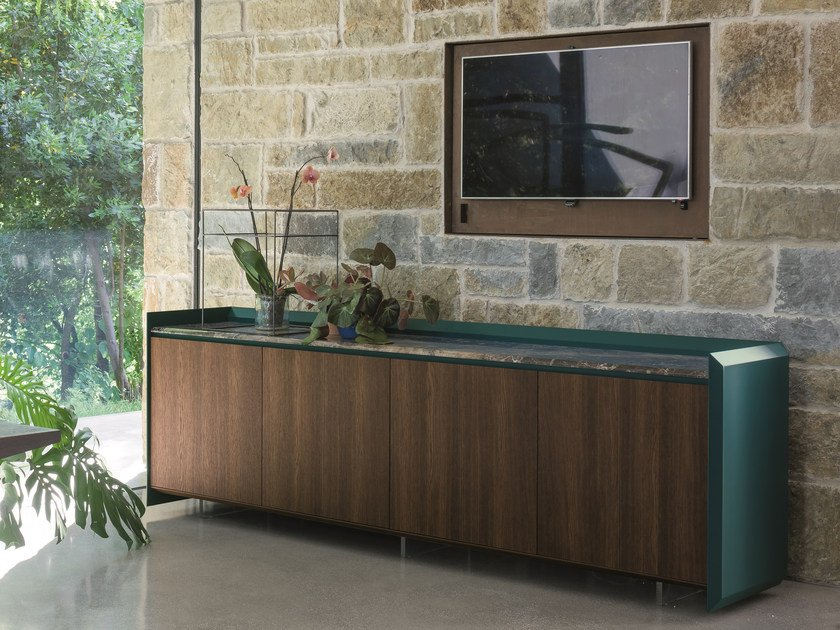 Sideboard with doors SLASH | Sideboard by Dall'Agnese