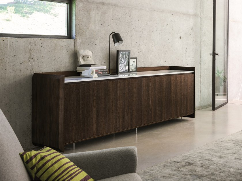 Sideboard with doors SLASH | Sideboard with doors by Dall'Agnese