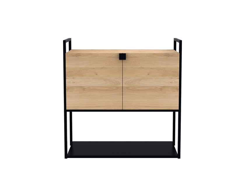 Oak sideboard with doors OAK CELL UNIT | Sideboard by Ethnicraft