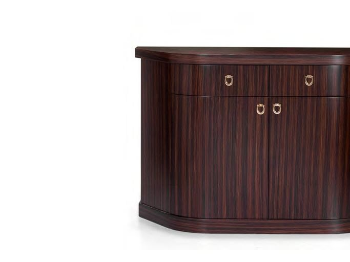 Lacquered sideboard with doors CHELSEA '13 | Sideboard by Formitalia
