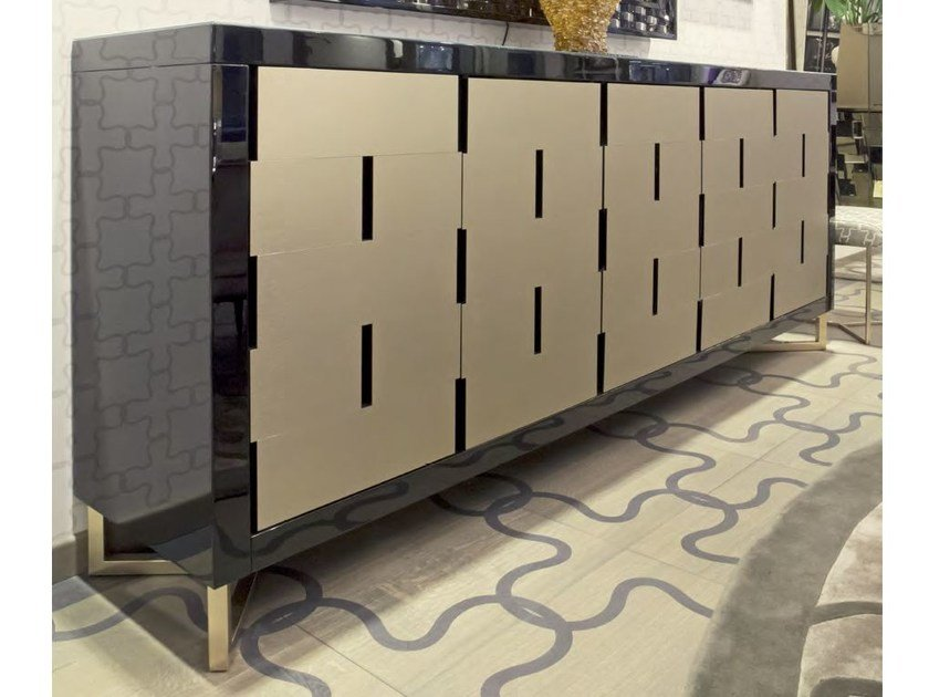 Lacquered sideboard with doors TERRAGNI | Lacquered sideboard by Formitalia Group