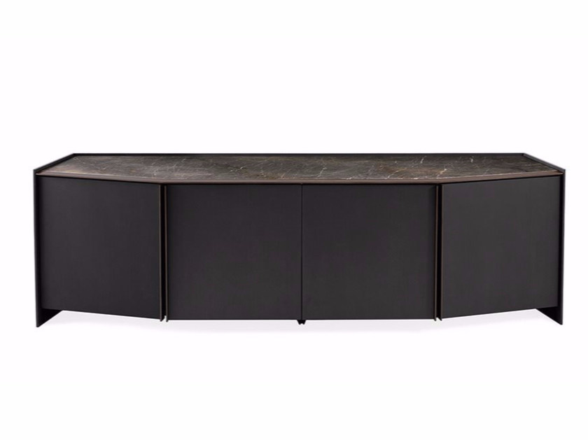 Wooden sideboard with doors ATHUS | Sideboard by Gallotti&Radice