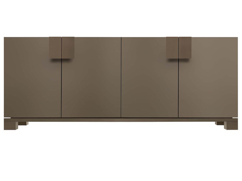 Lacquered sideboard with doors WOODY | Sideboard by JESSE