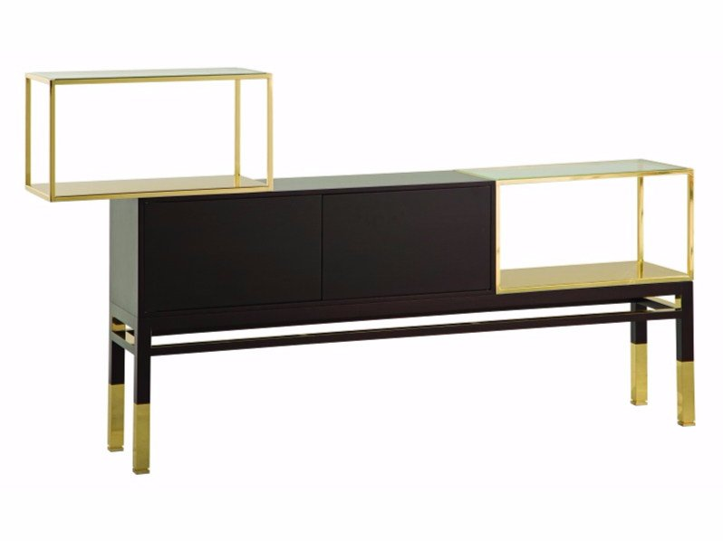 Deco sideboard with doors CHRISTIAN LACROIX MAISON | Sideboard by ROCHE BOBOIS