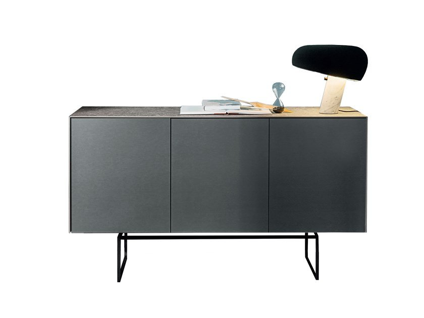Ceramic sideboard with doors MAGDA | Sideboard by Sovet italia