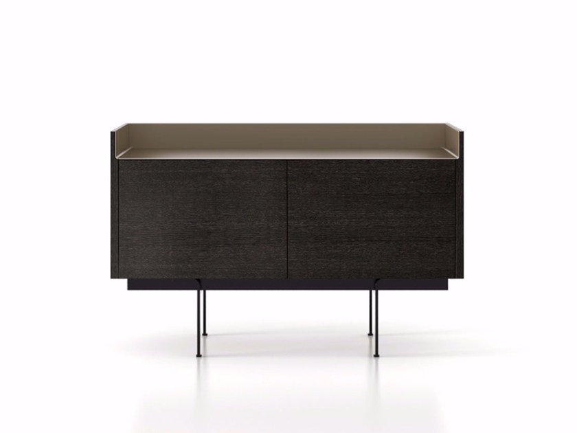 Wooden sideboard with doors STH211 | Sideboard with doors by Punt