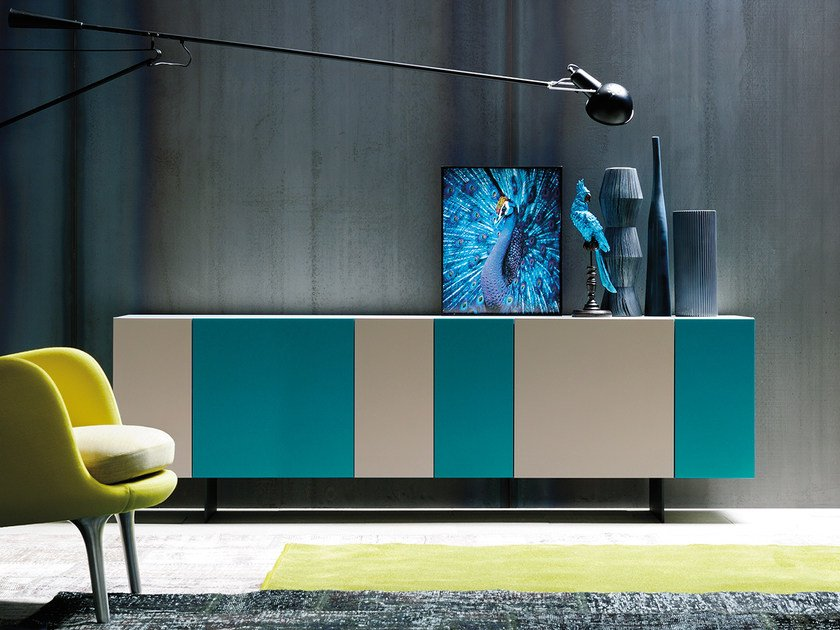 Sideboard with doors GRAPHOS | Sideboard with doors by Silenia
