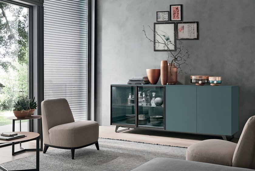 Sideboard with doors METROPOLIS | Sideboard with doors by Gruppo Tomasella