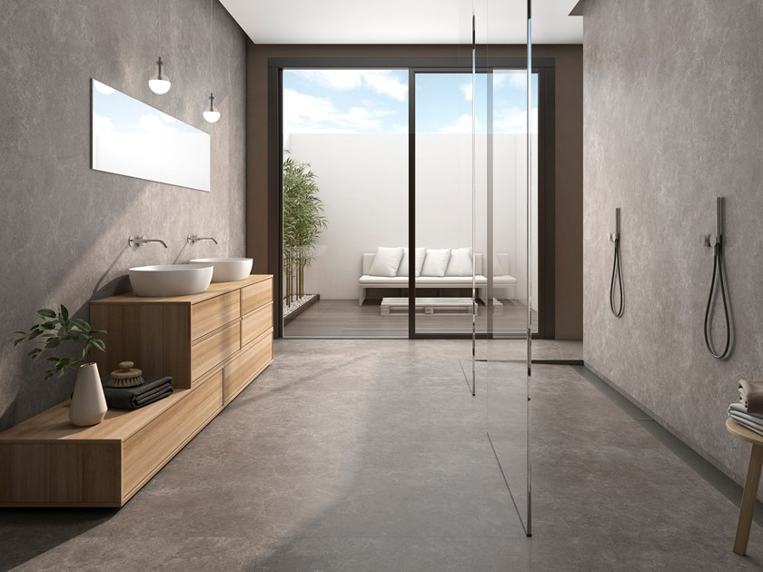 Sintered ceramic wall/floor tiles with stone effect SIDNEY by ITT Ceramic