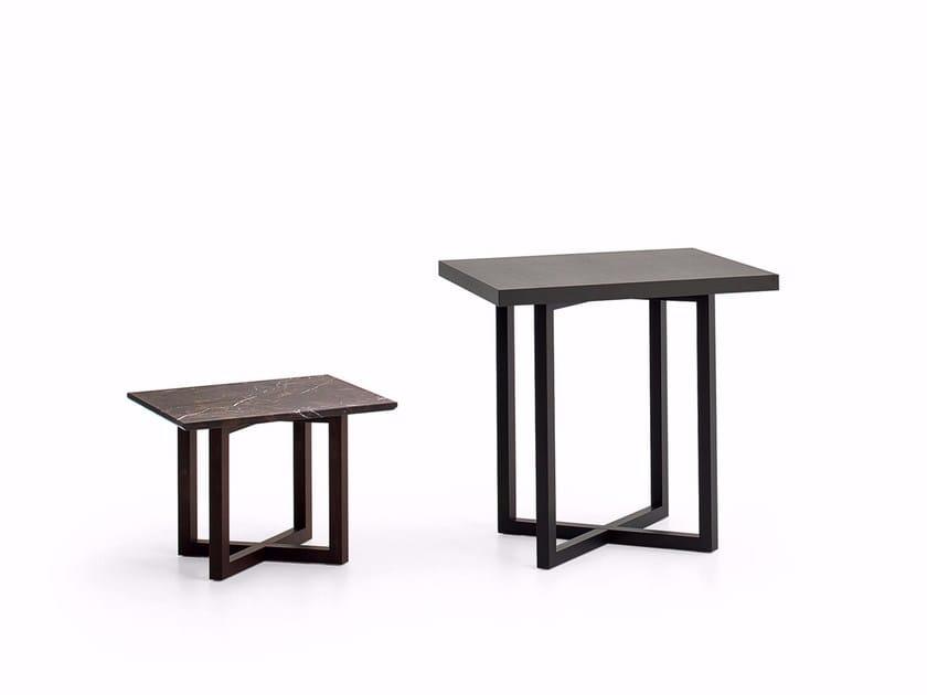 Rectangular bistro side table SIDNEY   Rectangular coffee table by Varaschin