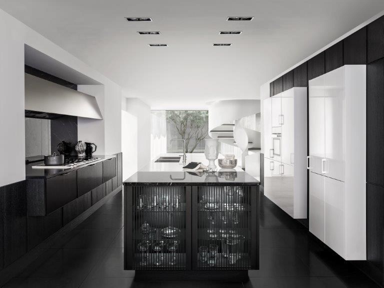 Contemporary Style Wooden Kitchen Siematic Pure - Se 3003 R By
