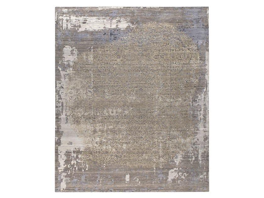 Tappeto fatto a mano su misura SIENA BLUE & GREY by Thibault Van Renne