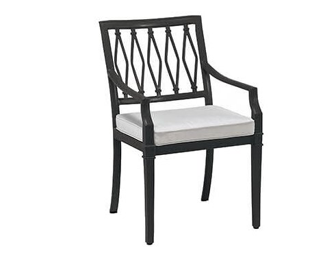 Aluminium garden chair with armrests SIENNA | Chair with armrests by Oxley's Furniture