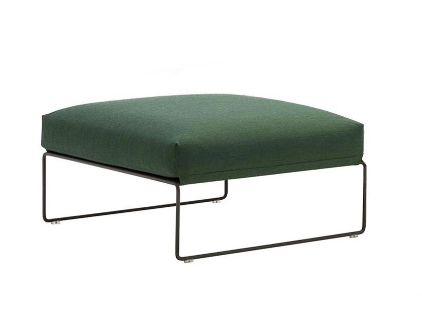 Upholstered footstool SIESTA RS3009 by Andreu World