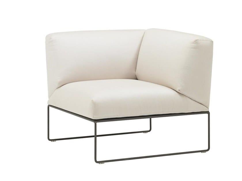 Corner modular armchair SIESTA SF3006 by Andreu World