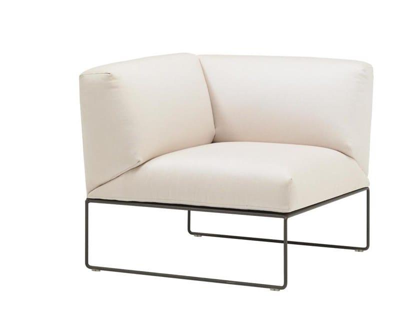 Corner modular armchair SIESTA SF3007 by Andreu World