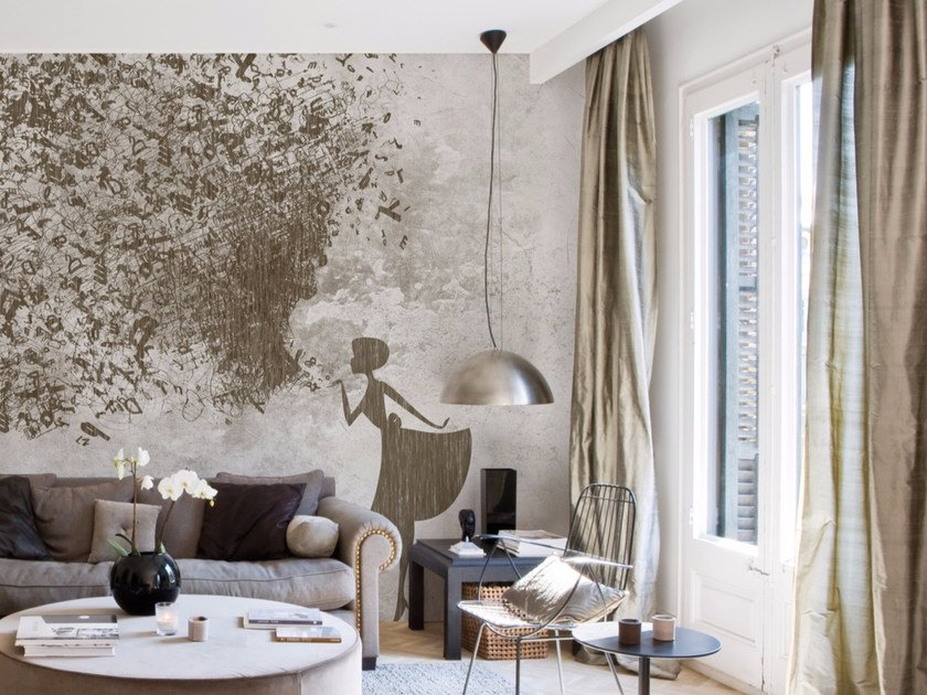 panoramic wallpaper sigh inkiostro bianco collection by. Black Bedroom Furniture Sets. Home Design Ideas