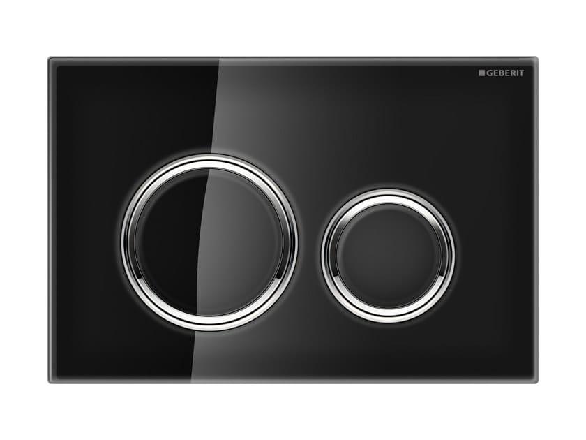 Placca di comando per wc in vetro SIGMA 21 | Placca di comando per wc in vetro by Geberit Italia