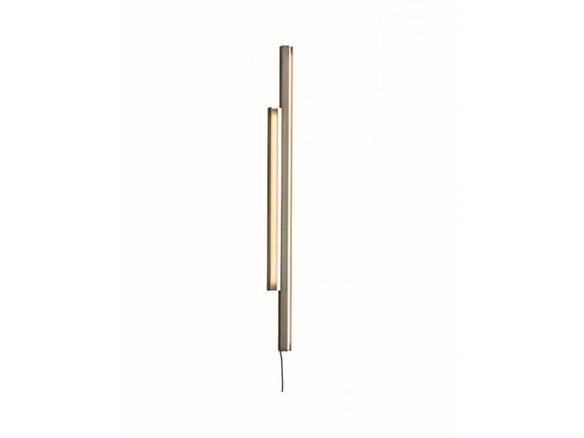 Applique in acciaio SIGN by Casamilano