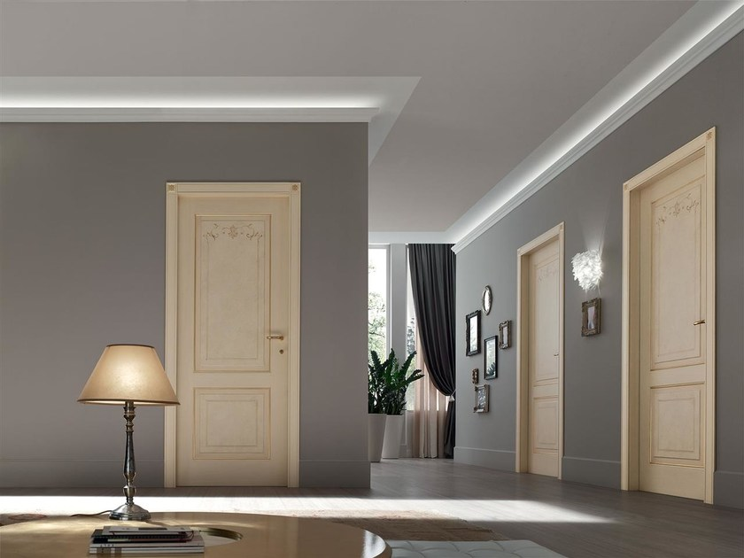 Hinged lacquered door SIGNA by Door 2000