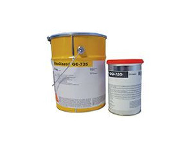 Thermo hardening resin SIKAGLAZE® GG-735 by SIKA ITALIA