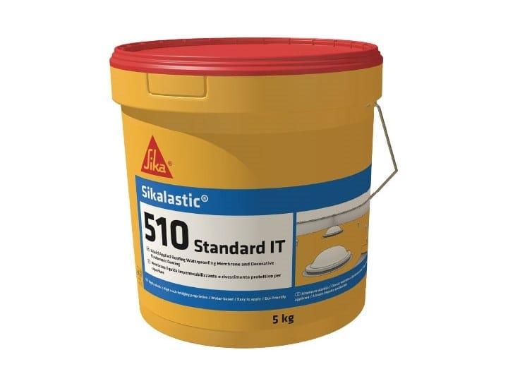 Liquid waterproofing membrane SIKALASTIC 510 STANDARD by SIKA ITALIA