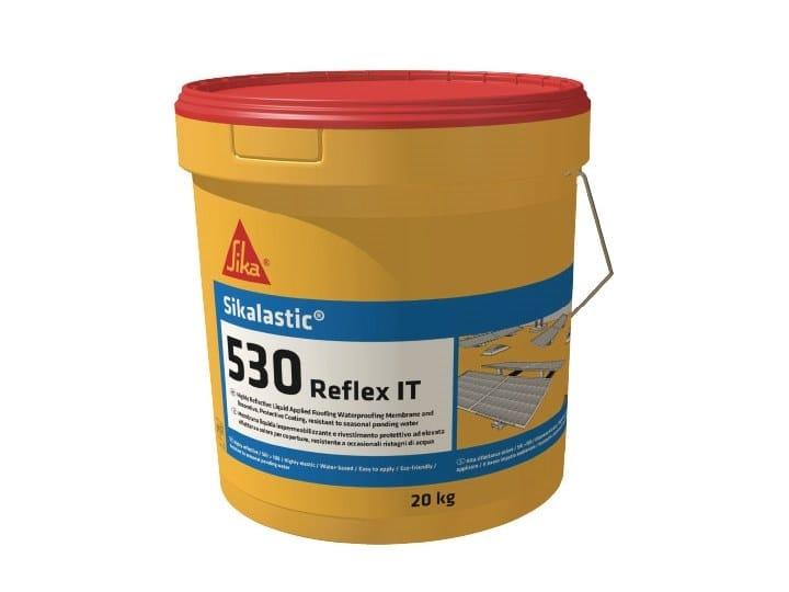 Liquid waterproofing membrane SIKALASTIC 530 REFLEX by SIKA ITALIA