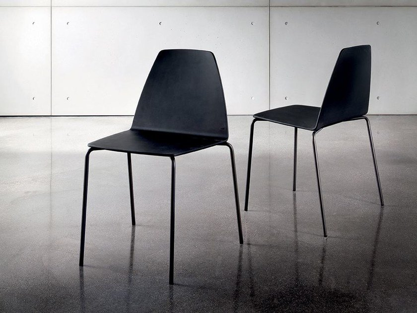 Multi-layer wood chair SILA | Multi-layer wood chair by Sovet italia
