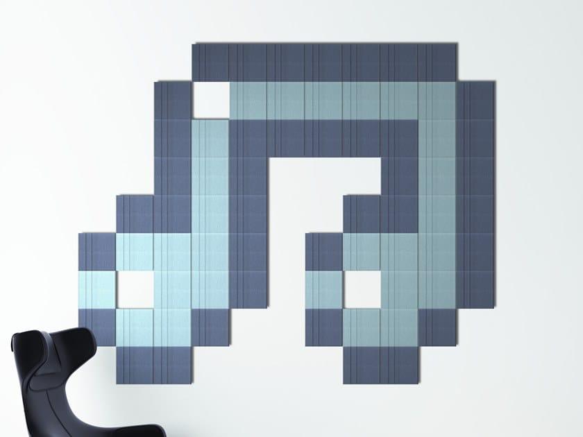 Pannello acustico a parete in materiale riciclato SILENTPURE | Pannello acustico a parete by Elitable