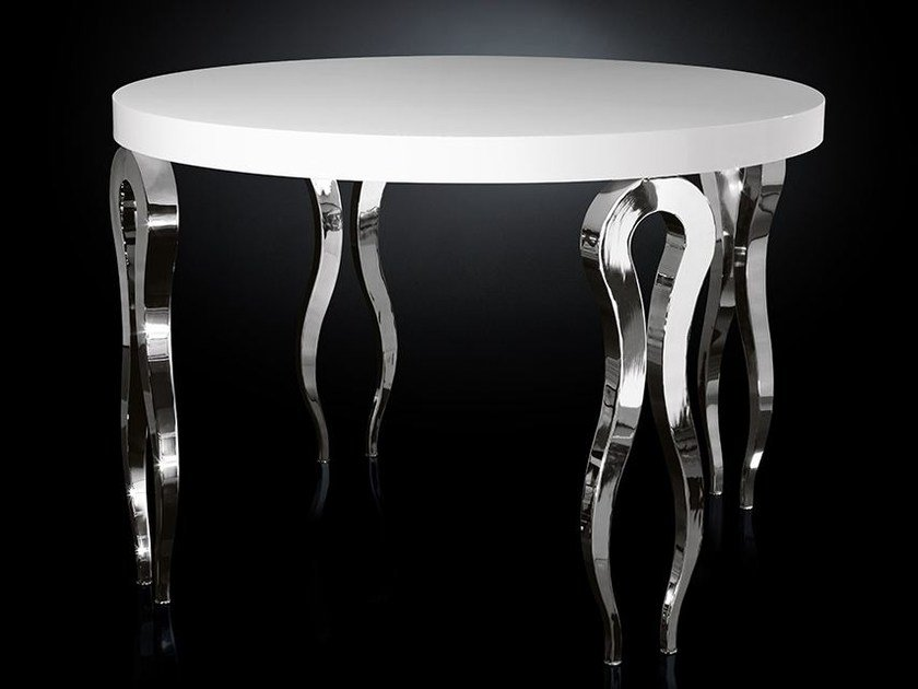 Round steel high table SILHOUETTE | High table by VGnewtrend