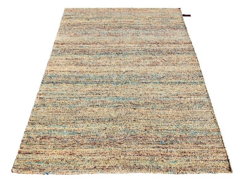 Handmade rectangular rug SILK RUG CAMEL by Massimo Copenhagen